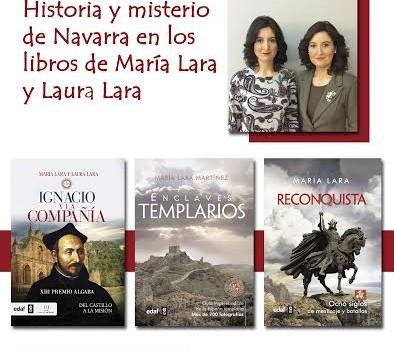 Cartel promocional del Día del Libro en El Corte Inglés de Pamplona