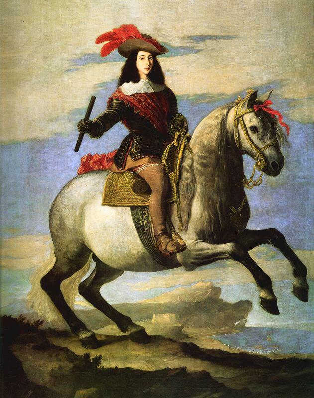 Don Juan José de Austria, por José de Ribera. Palacio Real de Madrid.