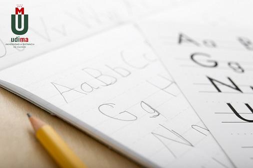 Alphabet on paper