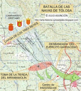 Navas De Tolosa Mapa.A 800 Anos De La Batalla De Las Navas De Tolosa Por Esther